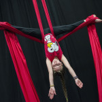 Upside down silks