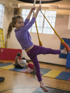 Youth aerial dance
